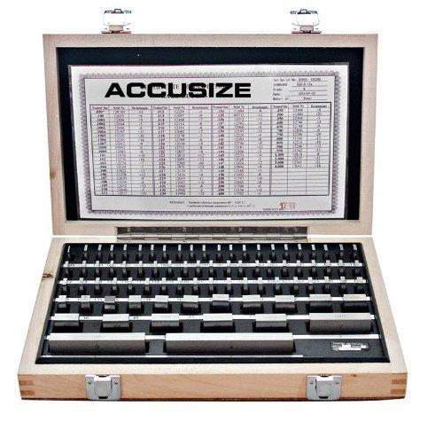 Accusize - 81 Pcs/Set Steel Gage Block set, Grade B, #P900-S581