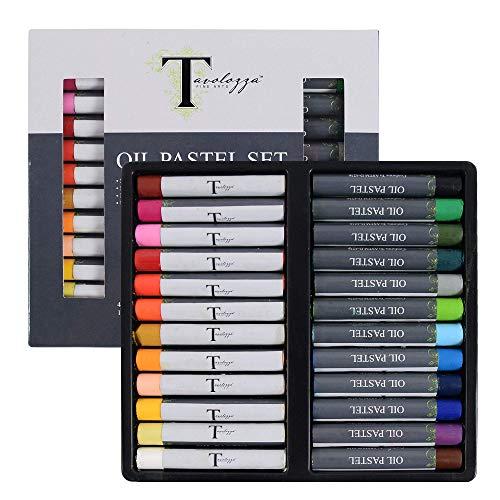Conda set 24 colores pastel al óleo