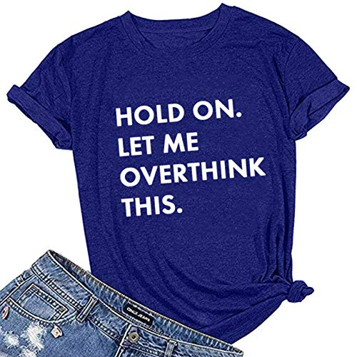 LAIYIFA Women T Shirts Crew Neck Ladies Top Short Sleeve Blouse Summer Loose Comfortable Sweatshirts Casual Wear Girls Perspiration Tunic Fashion Letter Print Shirts