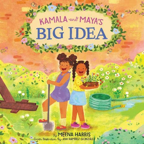 Kamala and Maya's Big Idea cover art