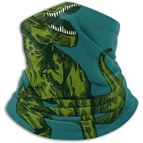 Hey Judey Dinosaurier Surfer Sonnenbrille Winter Fleece Nackenwärmer Gamaschen Haarband Kaltes Wetter Tube Face Mask Thermal Halstuch