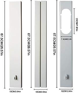 Adaptador de ventana para aire acondicionado portátil de 1,3M/1,6M, adaptador de ventanas, accesorios de aire acondicionado, adaptador de ventanas y dispositivos 1,9 m.