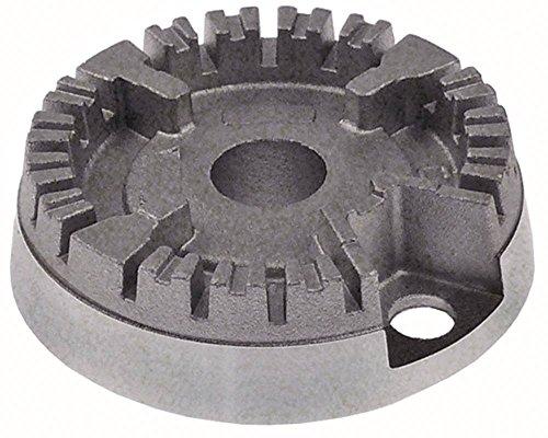 Bauknecht - Indesit Brennerkopf für Gasherd für Brennerdeckel ø 50mm 1000W 6mm Zündkerzenaufnahme ø 6mm