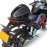 AKAUFENG Motorrad-Hecktasche Hecktasche Motorrad Hecktasche Motorradgepäck Tasche Hinterradgepäckträger 15L
