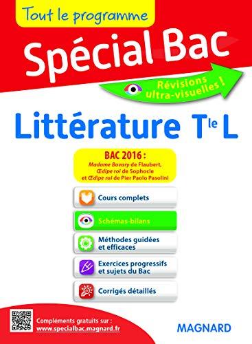 Special bac litterature tl bac 2016 (Spécial Bac)
