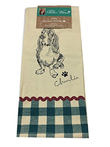 The Pioneer Woman Charlie Kitchen Towel Set 2 Piece