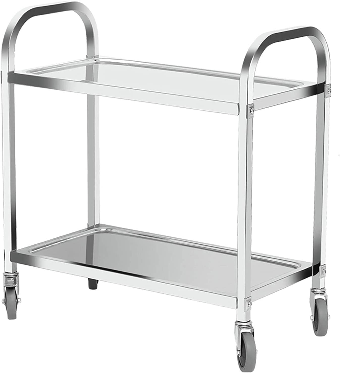 Product YLCS Kitchen Storage Trolley 3 Cheap 2 Shelves Stainle