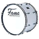 Fame Marching BassDrum 22'x12', mit Tragegurt & Beater