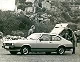 1978 Ford Capri Vintage Press Photo