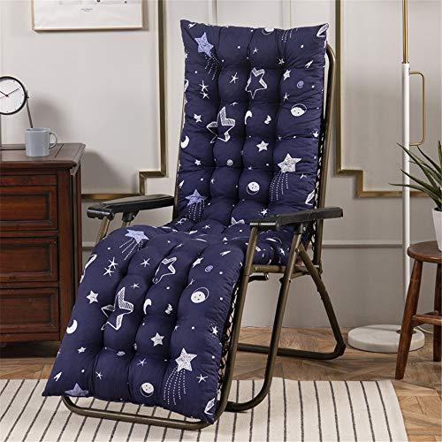 No Chair – Cojín de respaldo bajo para sillas de jardín, 7 cm de grosor, con núcleo de espuma y funda de 100% algodón