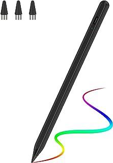 JAMJAKEタッチペン スタイラスペン 超高感度 極細 iPad/iPhone/タブレット/スマホ対応 たっちぺん USB充電式 改良型ペン先 磁気吸着機能対応 ipad ペン ペンシル(アップグレード)