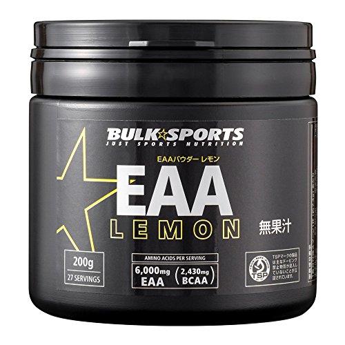 バルクスポーツ アミノ酸 EAAパウダー 200g レモン【必須アミノ酸】