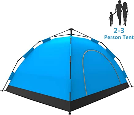 LETHMIK Camping Tent, Automatic Portable Pop-Up Tent,...