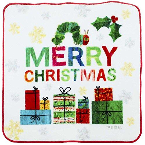 林 はらぺこあおむし クリスマス プチタオル PE453300 1枚入
