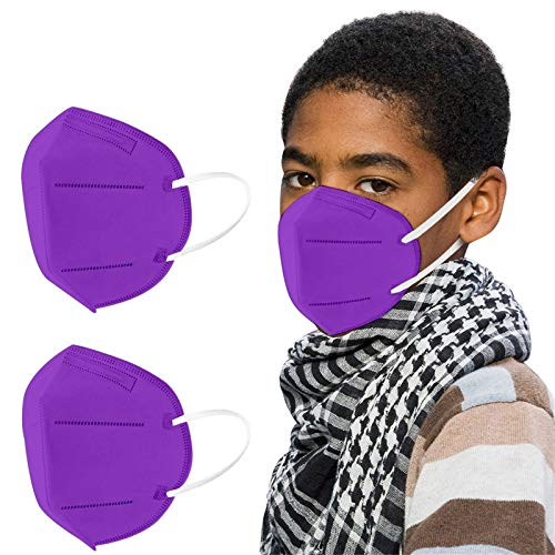 BOOMJIU 10 Stück Kinder - Bunt (008,Purple)