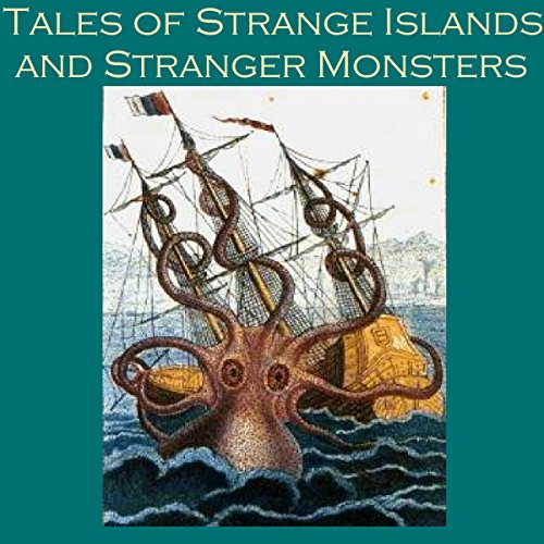 『Tales of Strange Islands and Stranger Monsters』のカバーアート