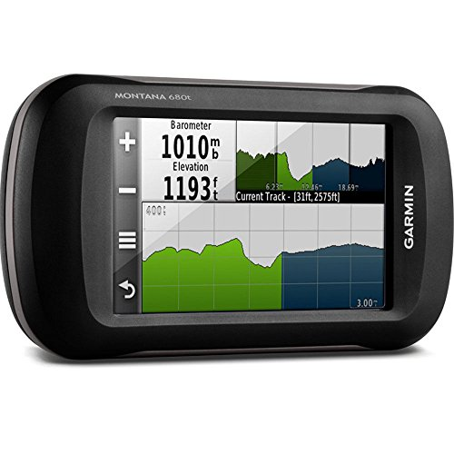 "Garmin Montana 680T - Navegador GPS, 10.2 cm (4""), 272 x 480 Píxeles, TFT, Vertical, 65536 Colores"