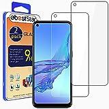 ebestStar - [Lote x2 Cristal Templado Compatible con OPPO A53S, A53 Protector de Pantalla, Película Vidrio Ultrafina, Dureza 9H, Sin-Burbujas [Phone: 163.9 x 75.1 x 8.4 mm, 6.5'']