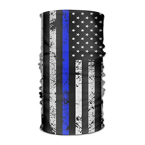 shenhaimojing 16 in 1 Seamless Scarf Gun USA Flag Outdoor Multifunctional Headband,Womens and Mens Headscarves with UV Resistance, Emergency Bandage