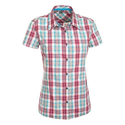 Salewa 2.0 Dry W Chemise à Manches Courtes pour Femme Large M Lesgets Sn/Tar/Pag