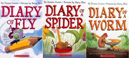 Bug Diaries Set (3 Books) : Diary of a Worm / Diary of a Spider / Diary of a Fly (Diary of a Worm)