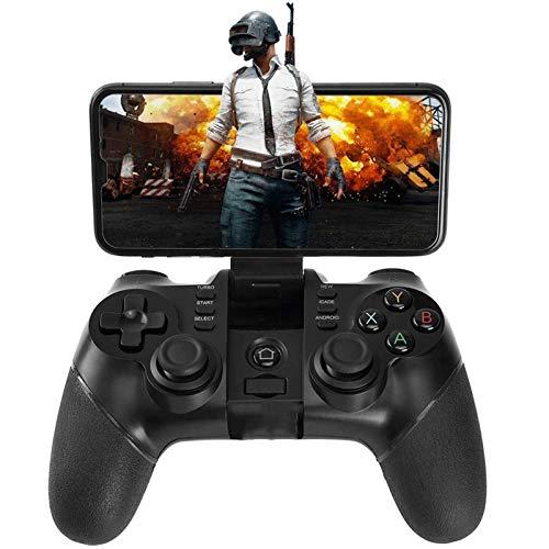 QCHEA Controlador inalámbrico Gamepad Controlador Recargable del teléfono del Juego, Compatible con teléfono Android, Tableta, TV, Caja de TV, Receptor Bluetooth for PC Incluido