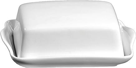 Ritzenhoff & Breker Butterdose Bianco aus Porzellan, Weiß preisvergleich bei geschirr-verleih.eu