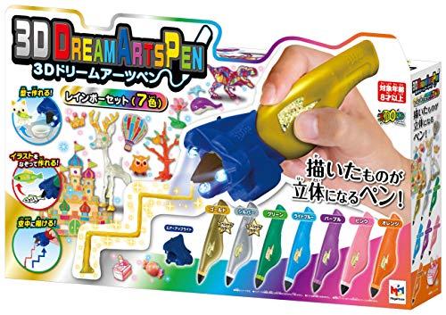 3Dドリームアーツペン レインボー7色セット