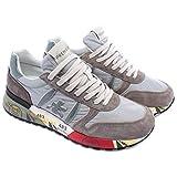 PREMIATA Sneakers Uomo Lander 4561 Camoscio Tessuto Grigio