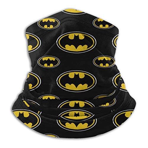 Bat Print Style Black Scarf Bandana Neck Gaiter Face Scarf/Seamless Thermal Neck Warmer/Facemask Skimask - Cold Weather Balaclava
