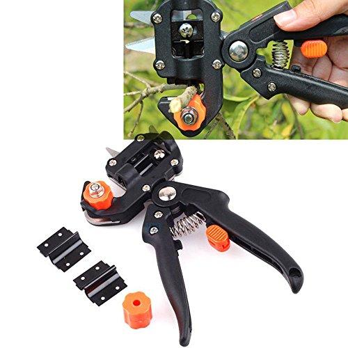 Fruits outils de Greffe bonsaï Sécateur Ciseaux Vaccinations couteau de coupe professionnelle Sécateur outils de jardin avec 2 lames