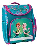 Disney Eiskönigin Frozen Anna ELSA Schulranzen Mädchen 1 Klasse Tornister Schulrucksack Schultasche für Grundschule super leicht ergonomisch und anatomisch/inkl. Sticker