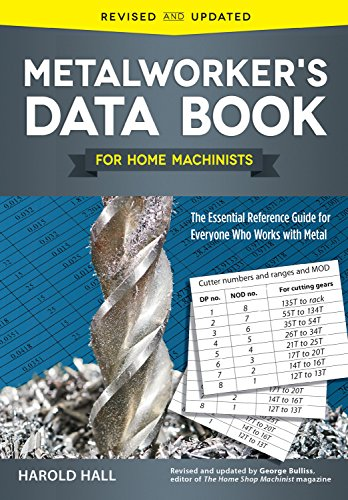 Compare Textbook Prices for Metalworker's Data Book for Home Machinists: The Essential Reference Guide for Everyone Who Works with Metal Fox Chapel Publishing Drill Sizes, Turning Tools, Electrical Components, Threads, & More Revised, Updated Edition ISBN 9781565239135 by Harold Hall