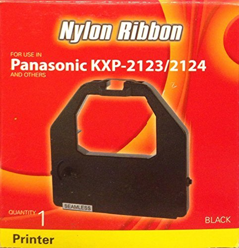 Panasonic Kxp-2123/2124 Nylon Ribbon, Black Ink Ribbon, Printer, Porelon, #11519