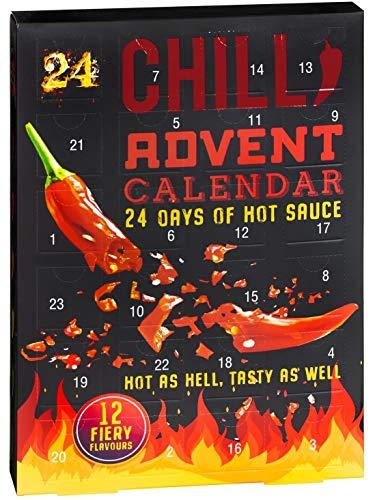 Chili Adventskalender 2020 - 24 Tage Hot Sauce Chilli Lovers Adventskalender