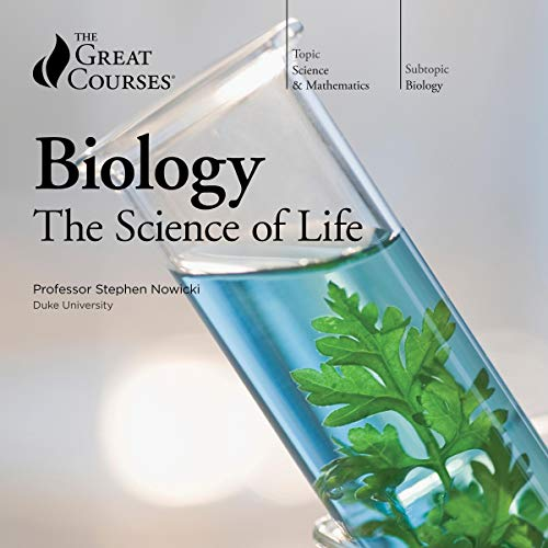Biology: The Science of Life audiobook cover art