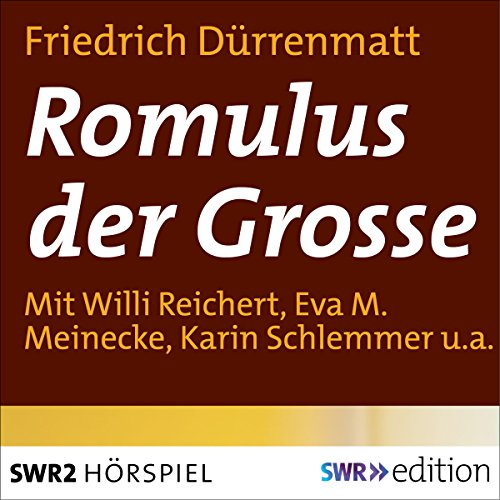 Romulus der Grosse audiobook cover art