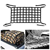 TOPQSC Cargo Net Short Truck Bed Cargo Net 42' x 50' Heavy Duty Cargo Nets for Pickup Trucks with Cam Buckles & S-Hooks Truck Bed Mesh (42' x 50')
