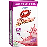 Boost Breeze Nutritional Drink, Wild Berry, 8 Ounce Box (Pack of 27)