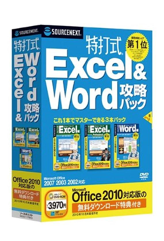 鈍いメッセージピンク特打式 Excel&Word攻略パック (Office 2010対応版 無料ダウンロード特典付き)