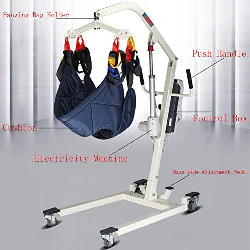 HKDJ-elektrische patiënt lifter met afstandsbediening, comfortabel en flexibel draaibaar, één persoon kan de zenders bedienen, geschikt voor alle soorten rolstoelen en bedden