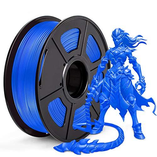 JAYO PLA 3D Printer Filament, PLA Filament 1.75mm, Dimensional Accuracy +/- 0.02 mm, 1kg Spool (2.2 lbs), PLA Blue