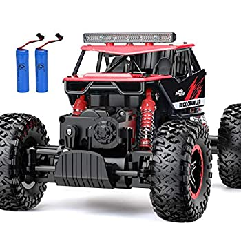 RC Car NQD Remote Control Monster Truck 2.4Ghz 4WD Off Road Rock Crawler Vehicle 1 16 All Terrain Rechargeable Electric Toy for Boys & Girls Gifts …