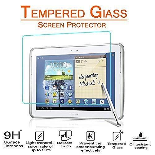 Schutzhülle für Samsung Galaxy Tab 2 10.1 GT-P5100 P5110 P7500 P7510 360 Grad drehbare Tablette PU Ledertasche Tab2 10.1 Glas-Glas Nicht gratis Geschenk