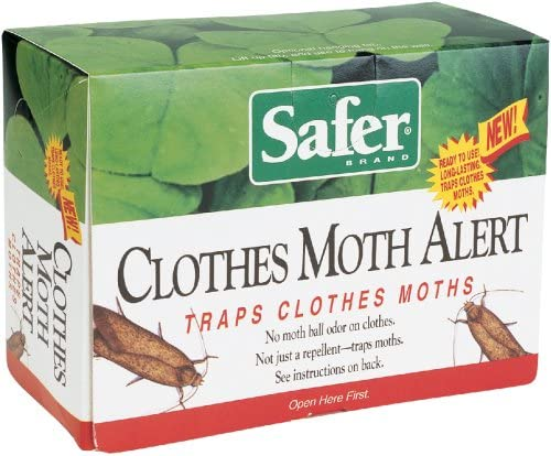 Safer Brand 07270 Clothes Moth Alert Trap product image