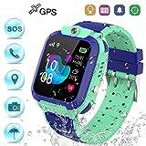 Winnes Reloj Inteligente Niño, Reloj Smartwatch Niños Niña GPS Soporte GPS + LBS de Doble Posicionamiento...
