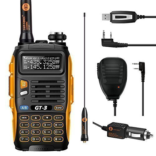 BAOFENG Mark II GT 3 Walkie Talkie, Nero