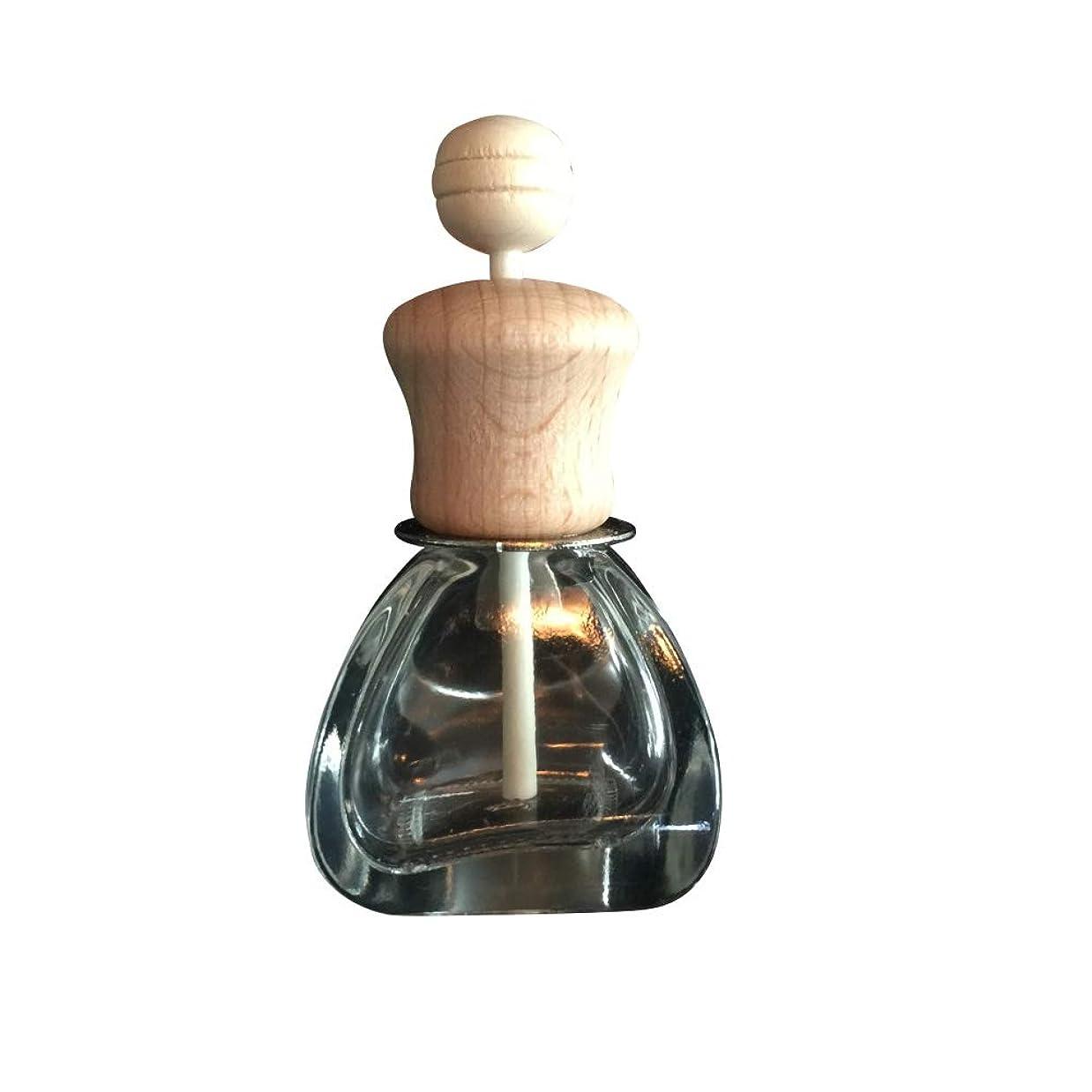 コーナー義務的運河KISSION カーベント香水瓶 詰め替え可能 車のペンダント 芳香剤 香水ディフューザー 香水瓶 掛けて 空気清涼剤 ディフューザー フレグランスボトル