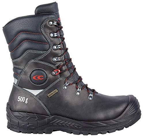 Cofra 13530-000.W41 - Zapatos de Seguridad (Talla 41, S3, WR, Ci, HRO SRC, Brimir, Color Negro