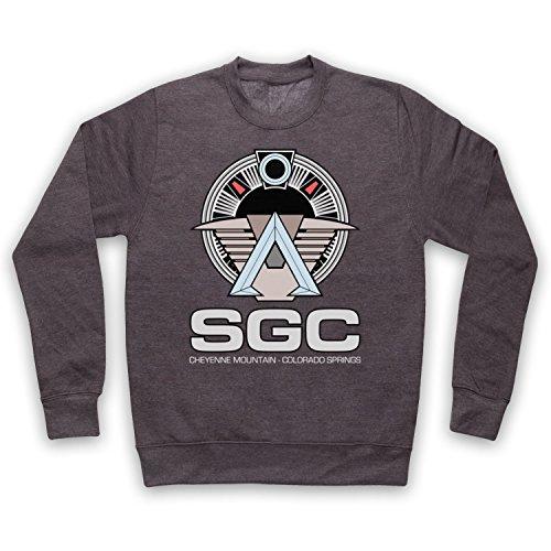 Death To Videodrome Star SGC Sci Fi Space TV Film Adulti Felpa Carbone 2XL